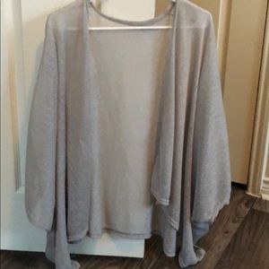 Sweaters - Light gray cover up!